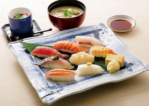 日本海寿司ランチ