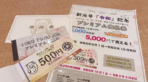 プレミアム商品券のお知らせ(喜多方)