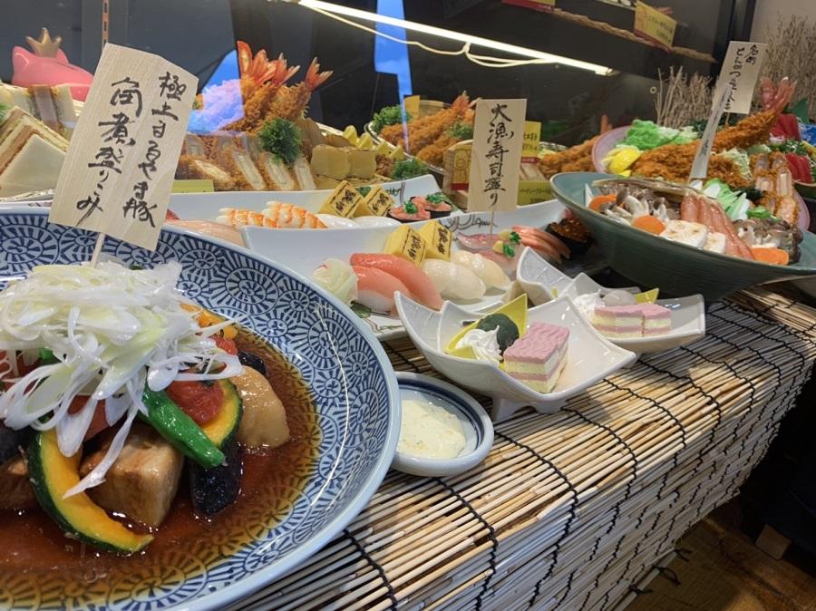 かつ丸福島大皿料理